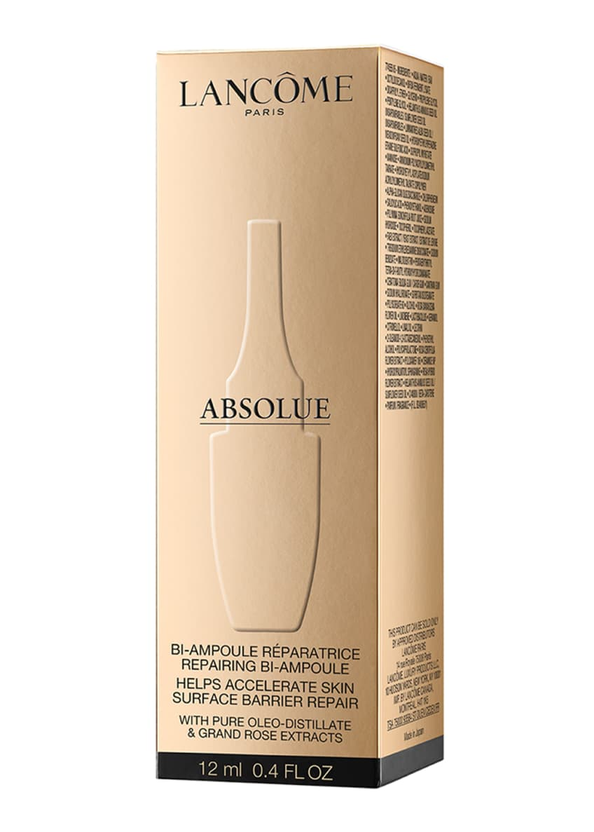 Image 3 of 5: 0.4 oz. Absolue Overnight Repairing Bi-Ampoule Concentrated Anti-Aging Serum
