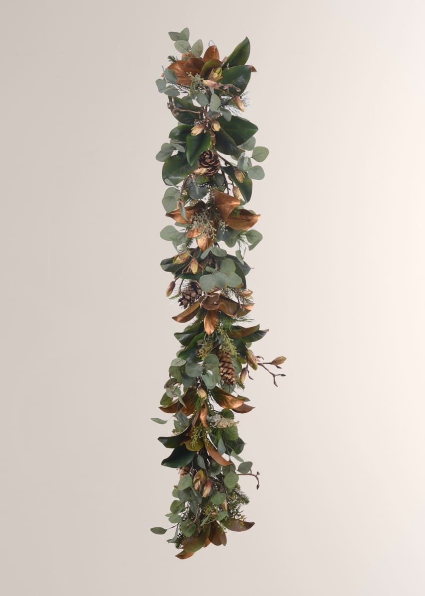 Image 1 of 1: Golden Mix Garland 5'