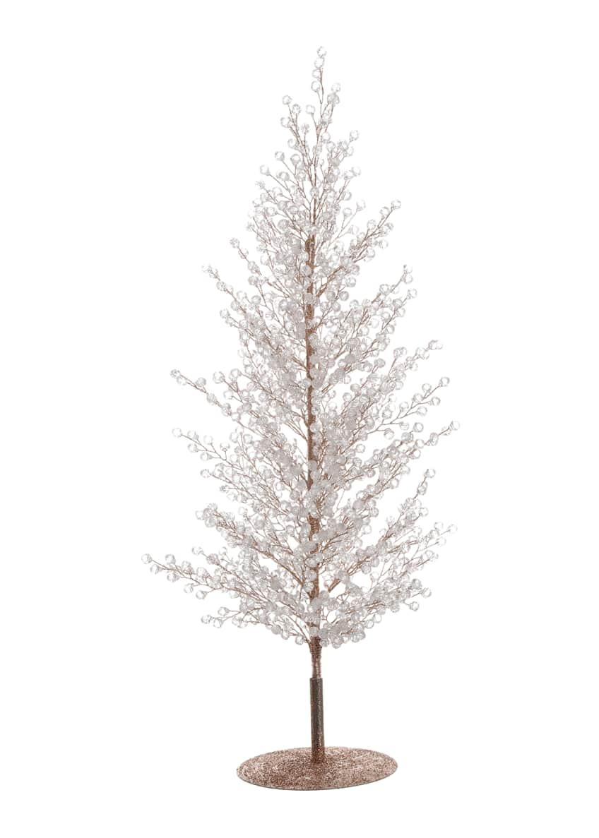 "Image 1 of 1: 20"" Clear/Gold Diamond Sparkle Tree"