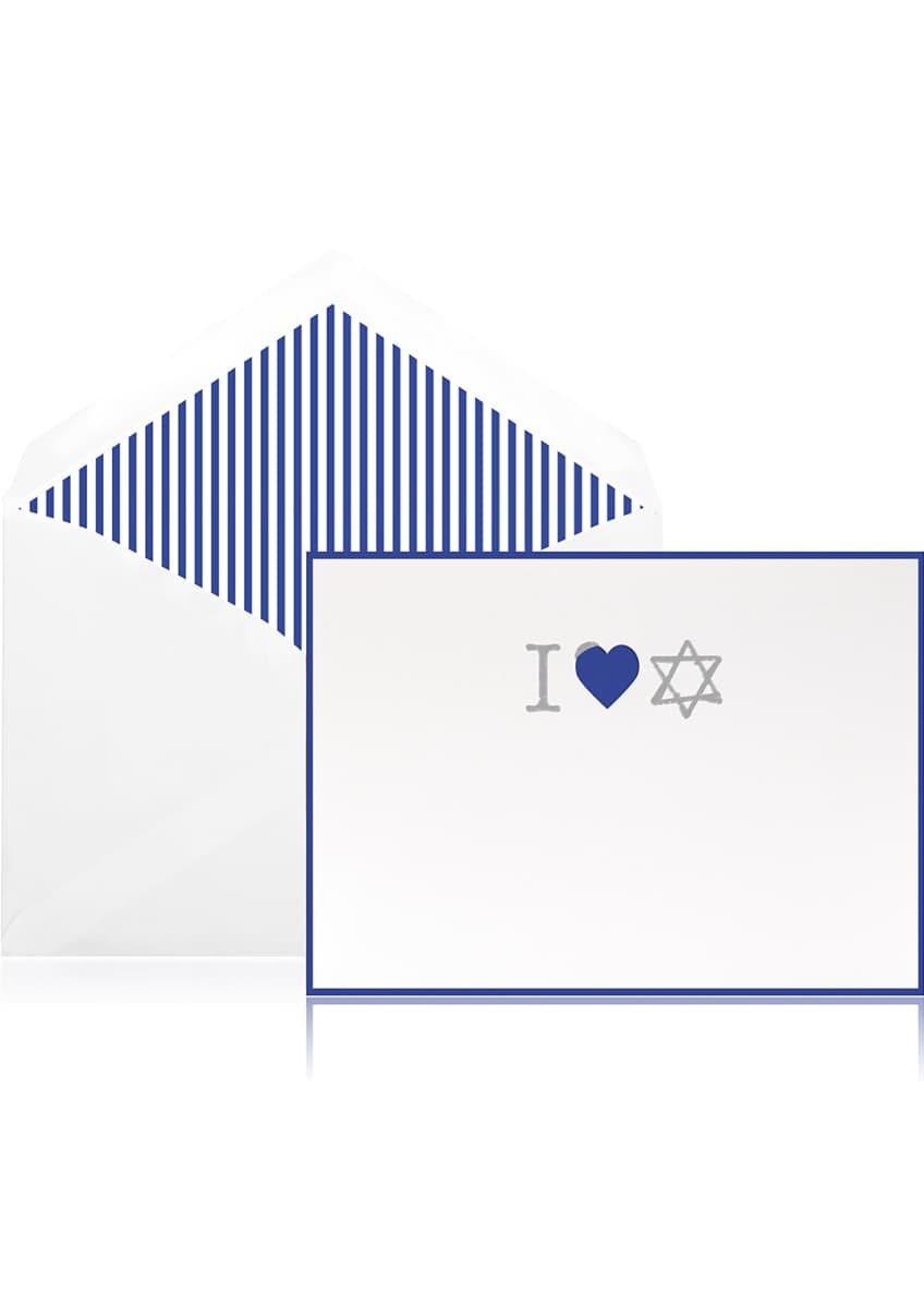 Image 1 of 1: I Heart Hanukkah Holiday Cards - Boxed Set of 10