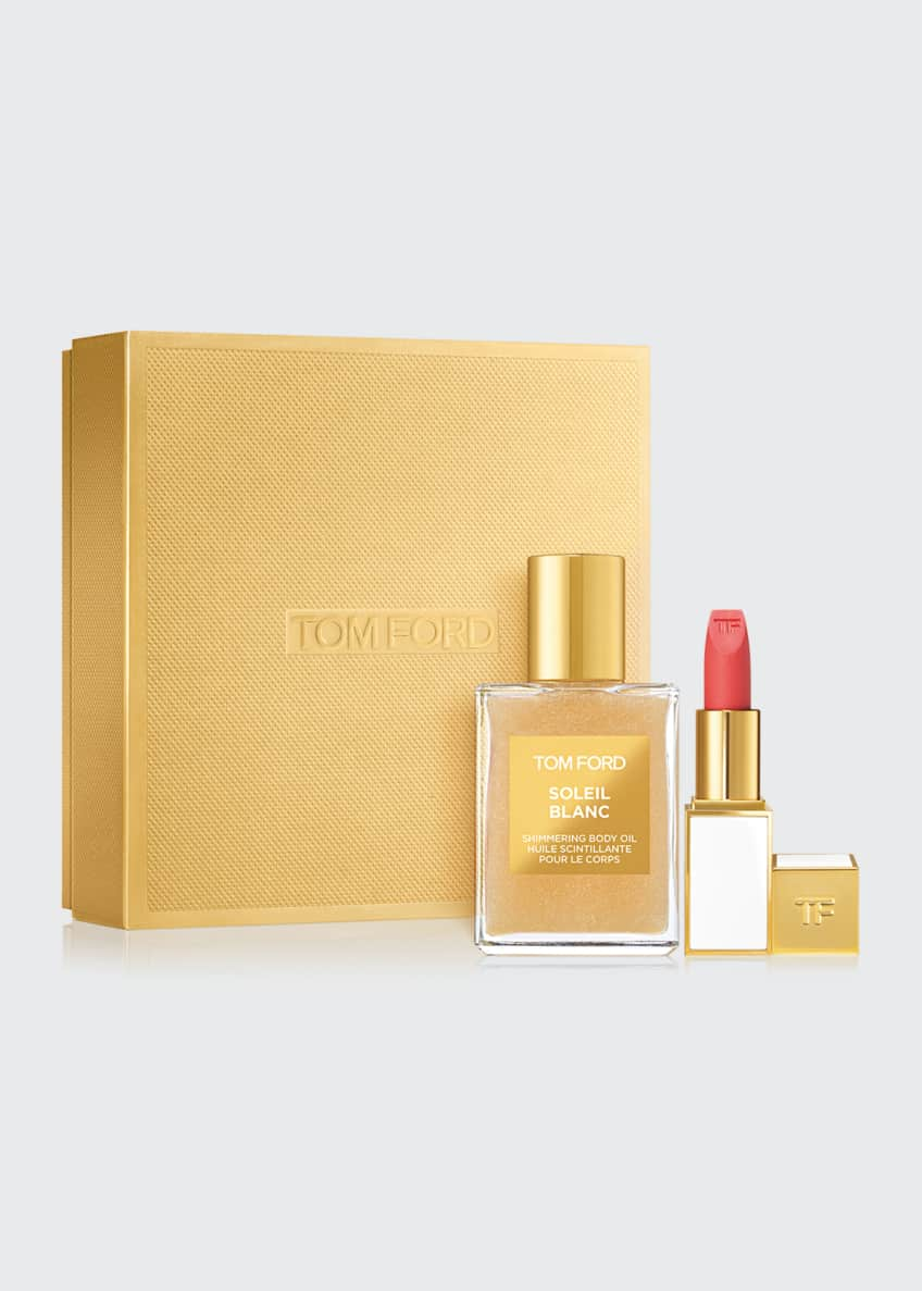 Tom Ford Soleil Blanc Shimmering Body Oil And Paradiso Set Bergdorf Goodman