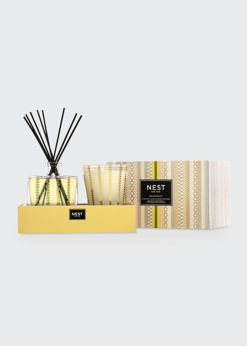Image 1 of 1: Grapefruit Classic Candle & Diffuser Set