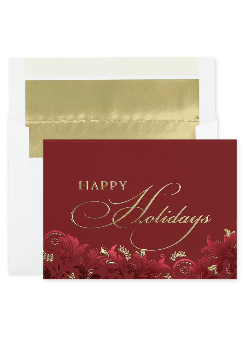 Image 1 of 3: Exquisite Holiday Cards, Set of 25
