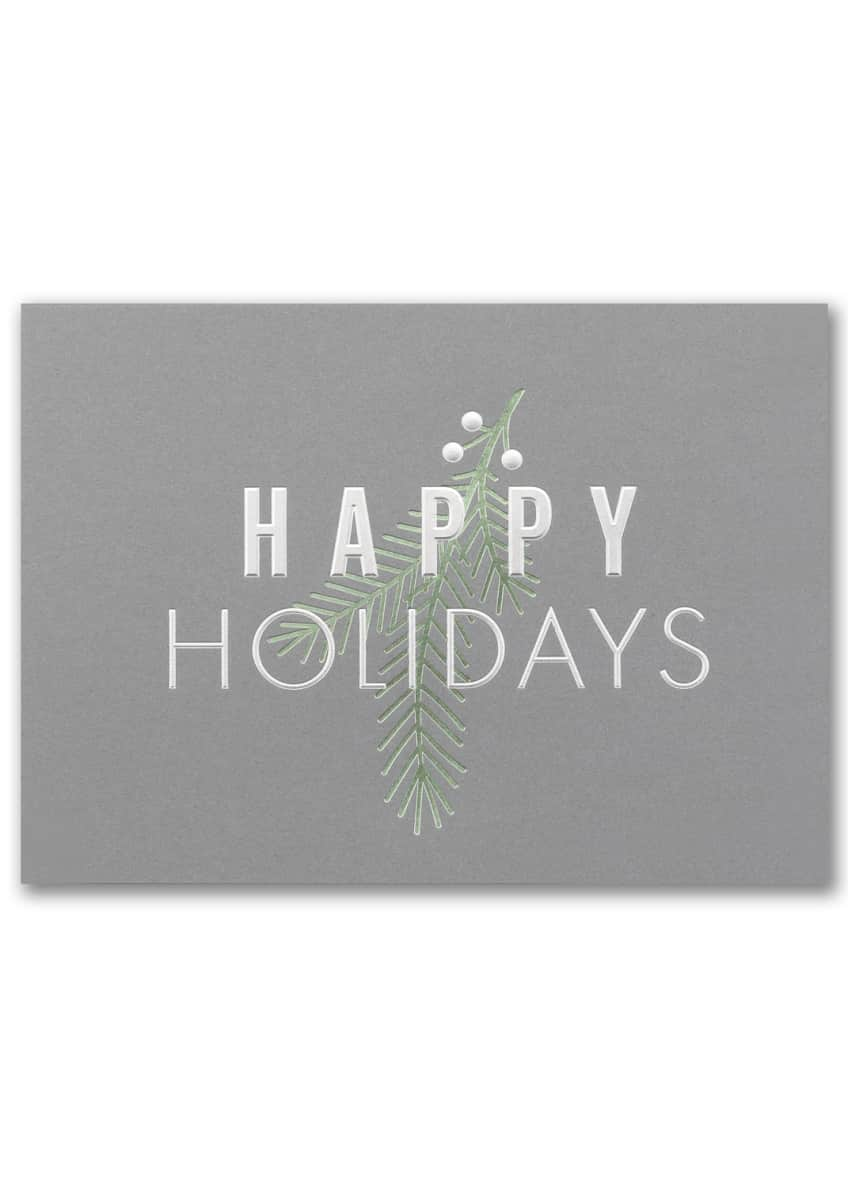 Image 2 of 3: Simple Holiday Cards, Set of 25