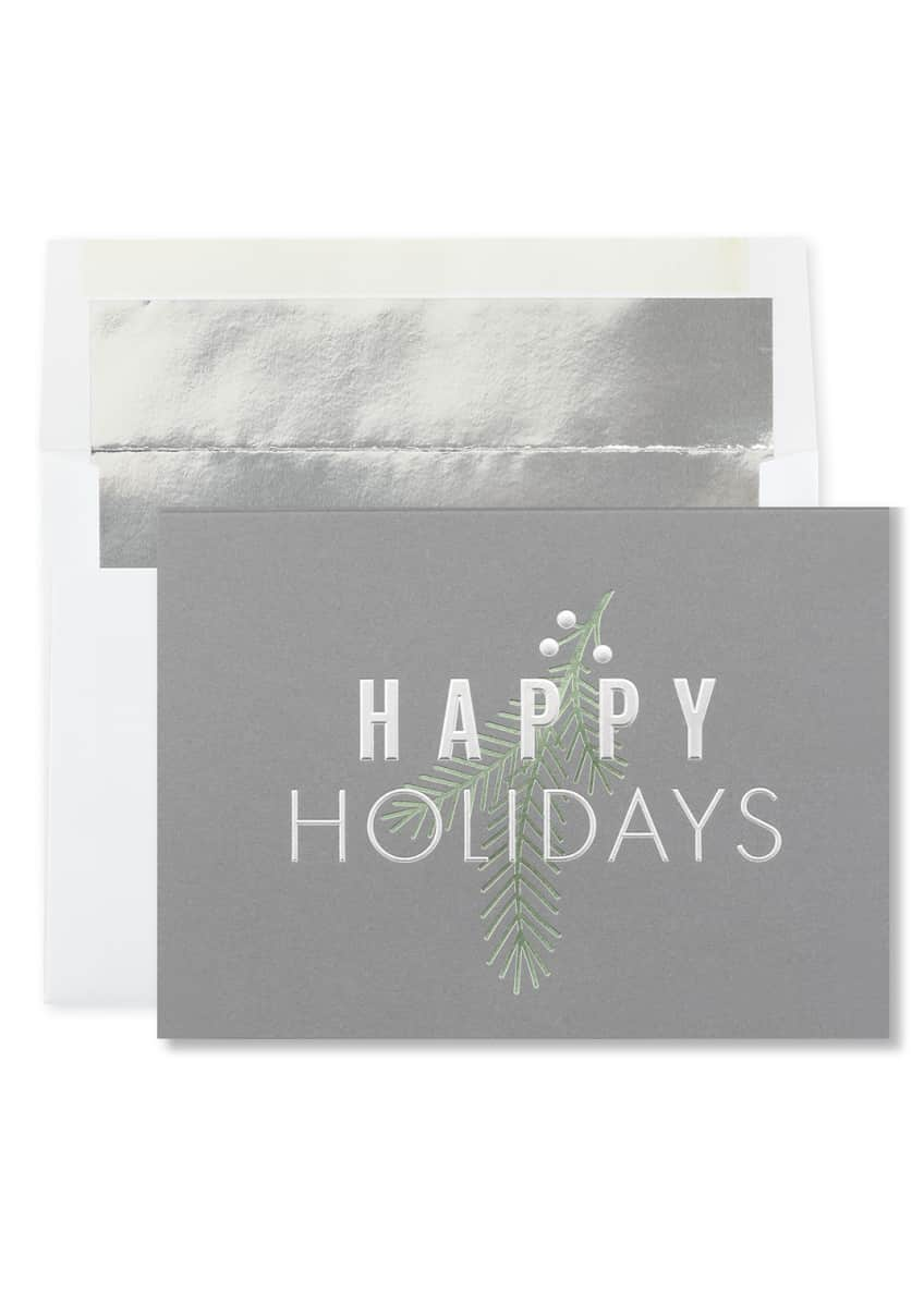 Image 1 of 3: Simple Holiday Cards, Set of 25