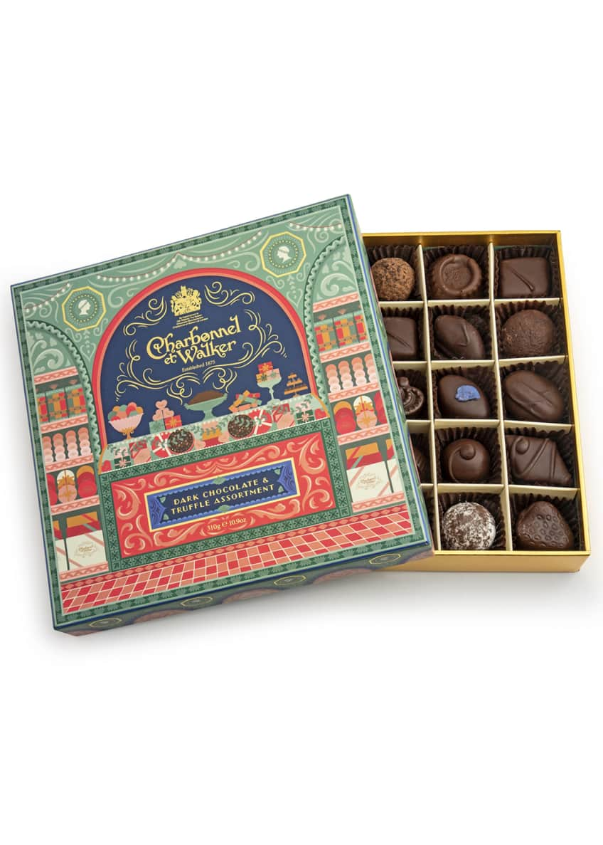 Image 1 of 1: Dark Chocolate and Truffle Selection