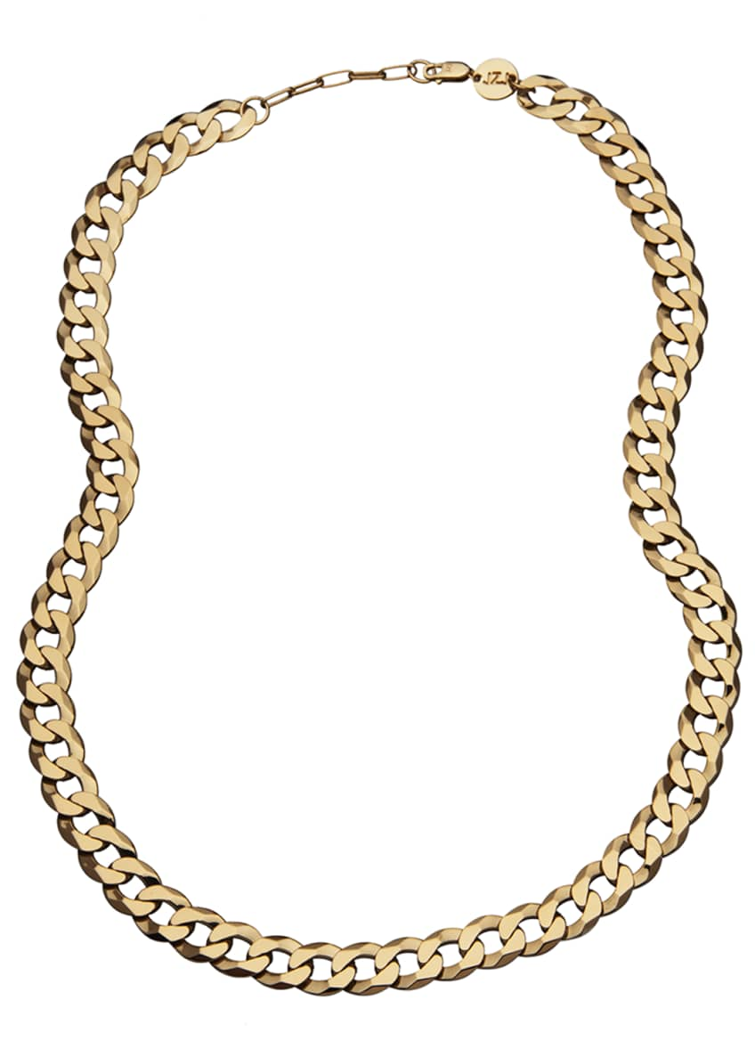 Image 1 of 1: Angie Curb-Link Chain Necklace