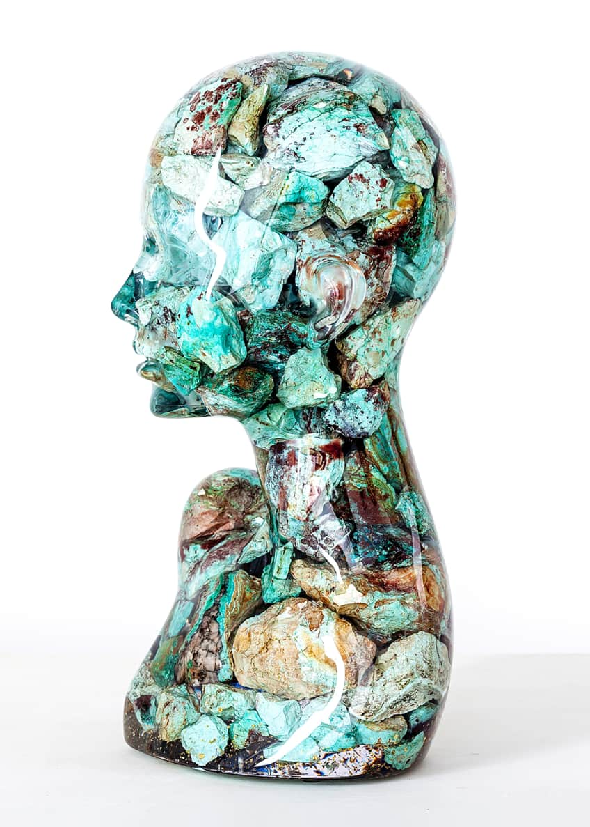 "Image 2 of 3: ""ESTANATLEHI - Turquoise Lady"" by Guido Oakley"