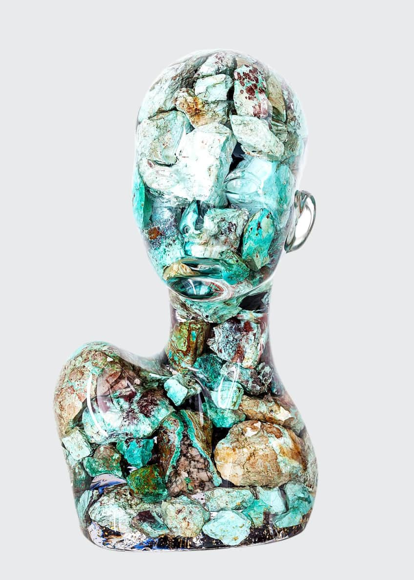 "Image 1 of 3: ""ESTANATLEHI - Turquoise Lady"" by Guido Oakley"