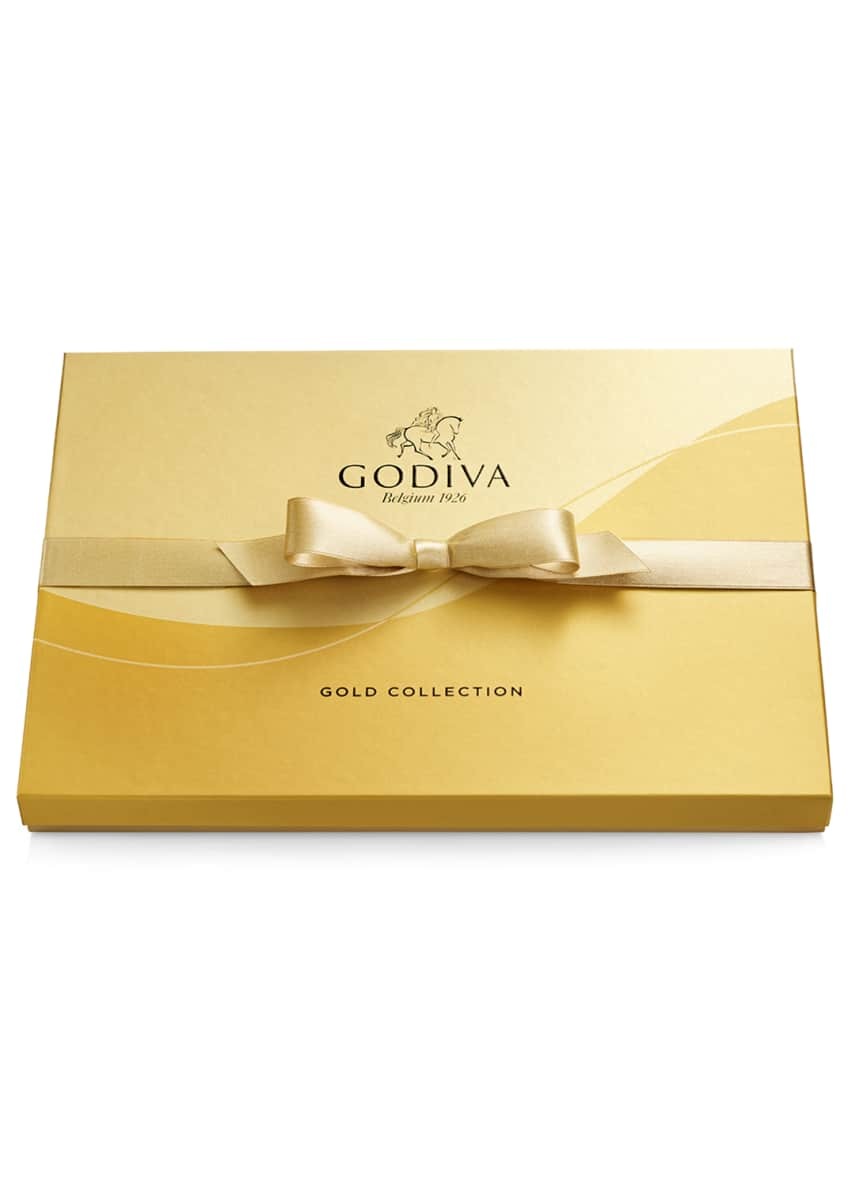 Image 2 of 3: 36-Piece Assorted Chocolate Gold Gift Box