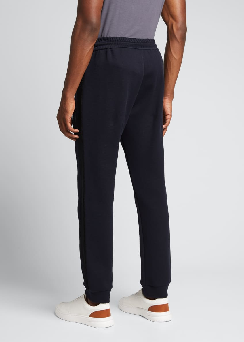 Image 2 of 5: Men's Double-Jersey Jogger Pants