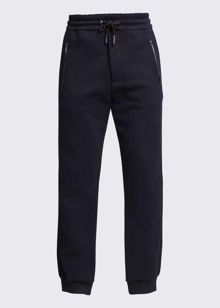 Image 5 of 5: Men's Double-Jersey Jogger Pants