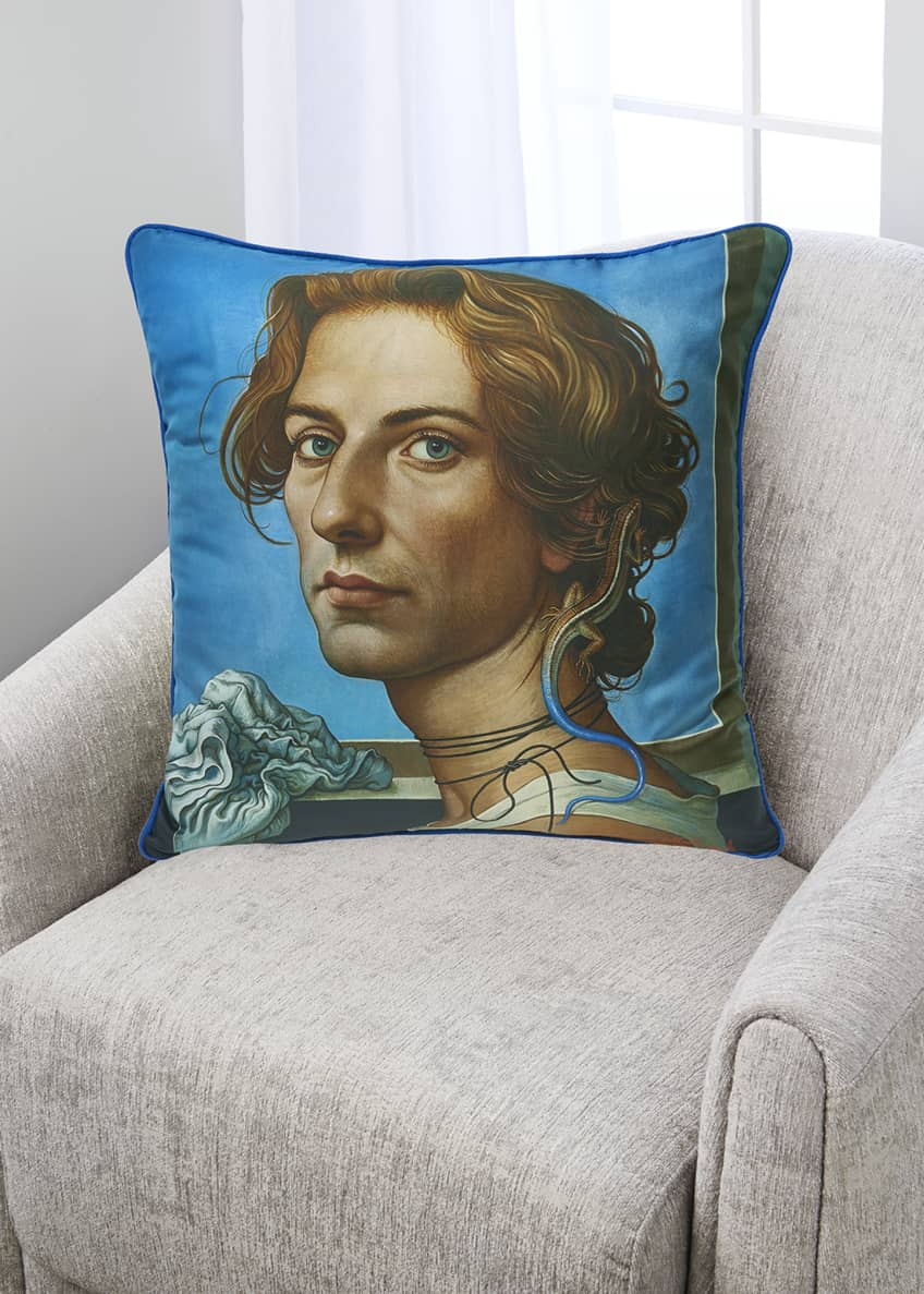 Image 1 of 1: Beautiful People I Silk Pillow