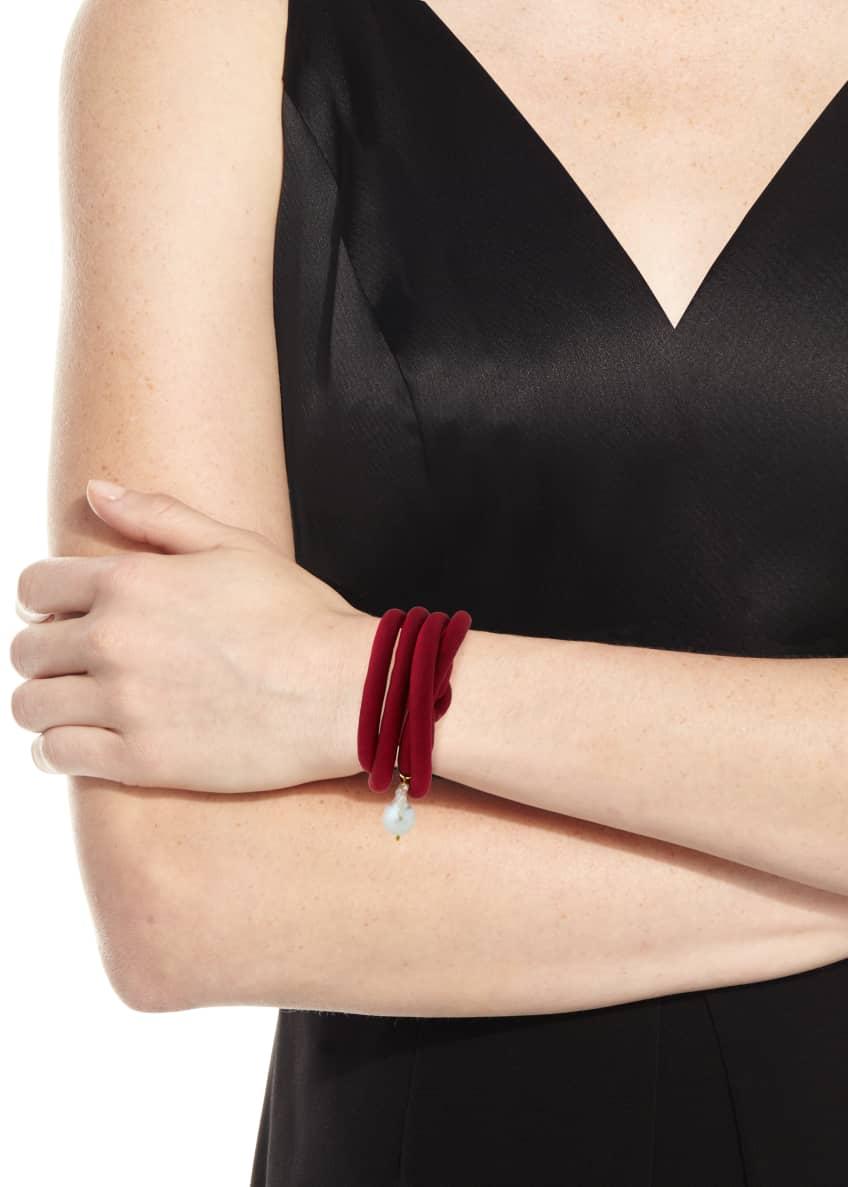 Grazia And Marica Vozza Woven Silk Bracelet with