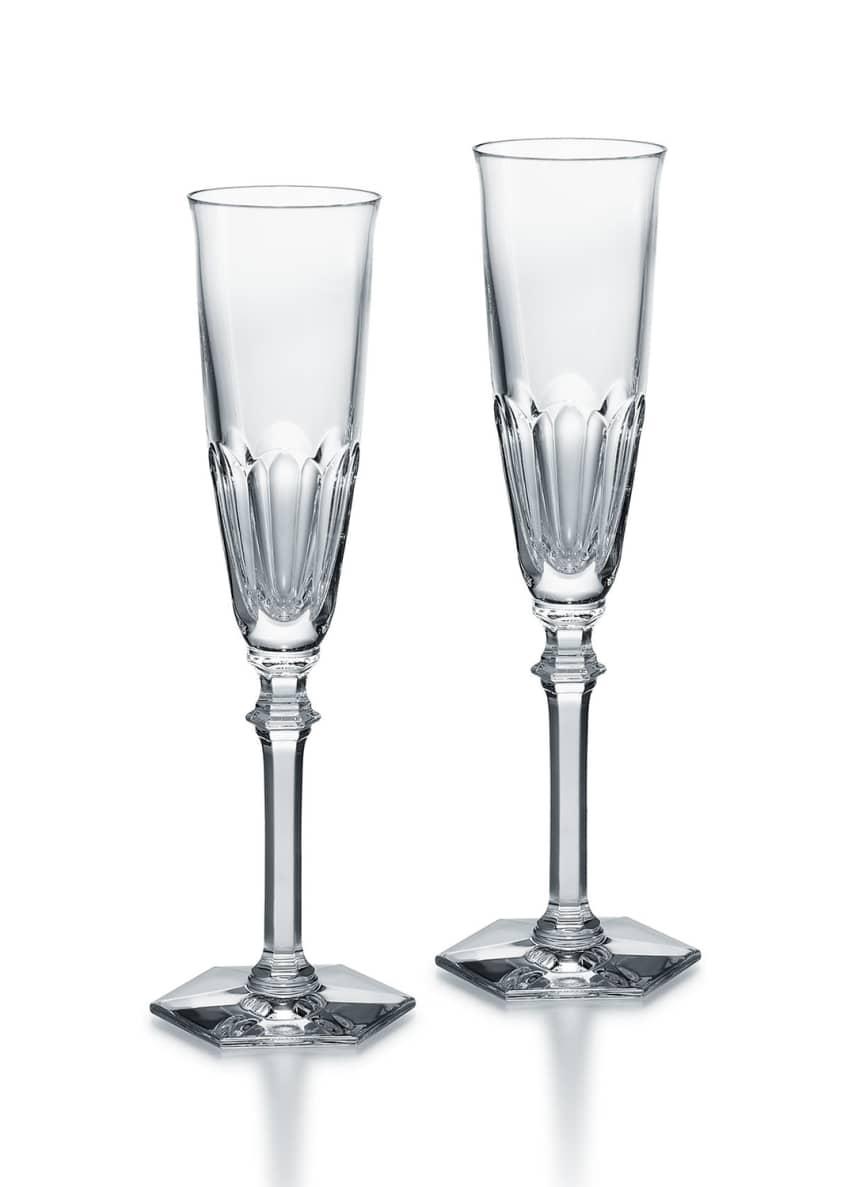 Baccarat Harcourt Eve Champagne Flutes, Set of 2