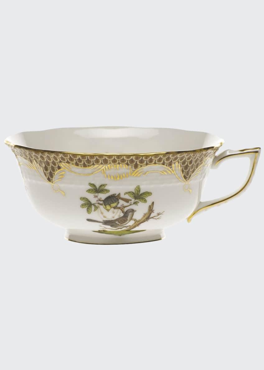 Herend Rothschild Bird Brown Tea Cup