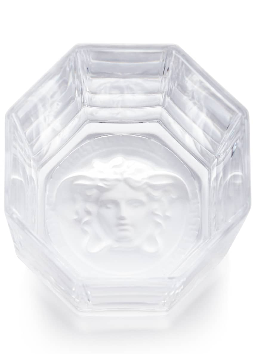 Image 2 of 2: Medusa Lumiere Double Old-Fashioned Glasses, Set of 2