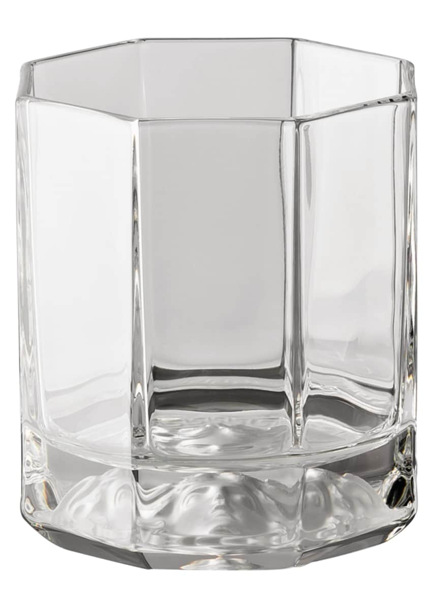 Image 1 of 2: Medusa Lumiere Double Old-Fashioned Glasses, Set of 2