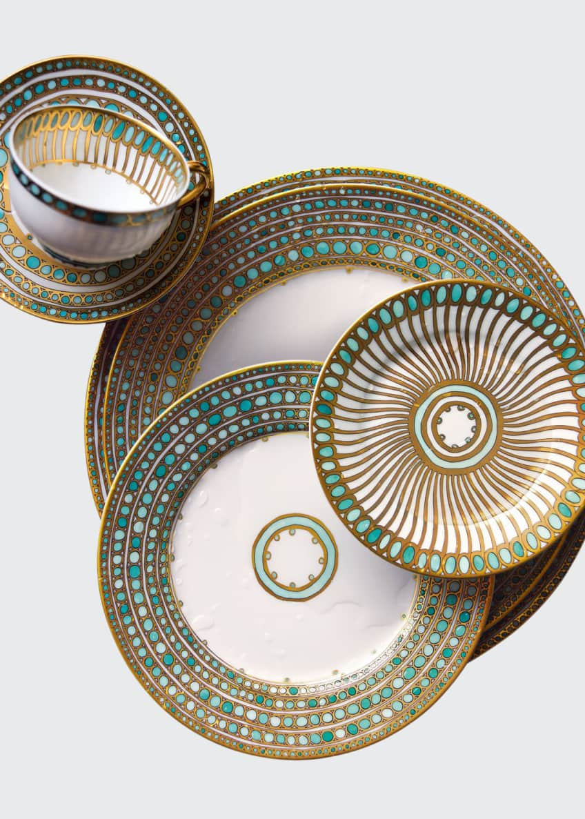 Image 1 of 1: Syracuse Turquoise Dinner Plate