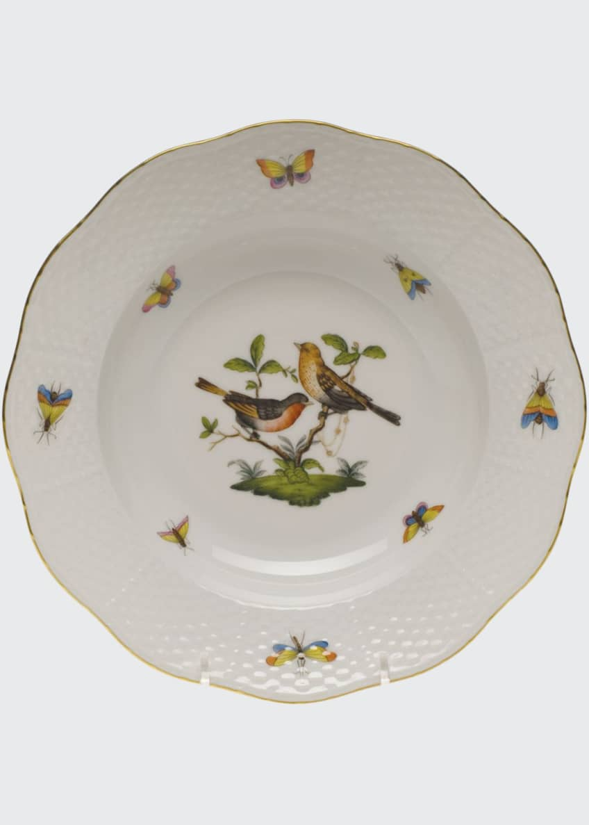 Image 1 of 1: Rothschild Bird Motif 9 Rim Soup Plate