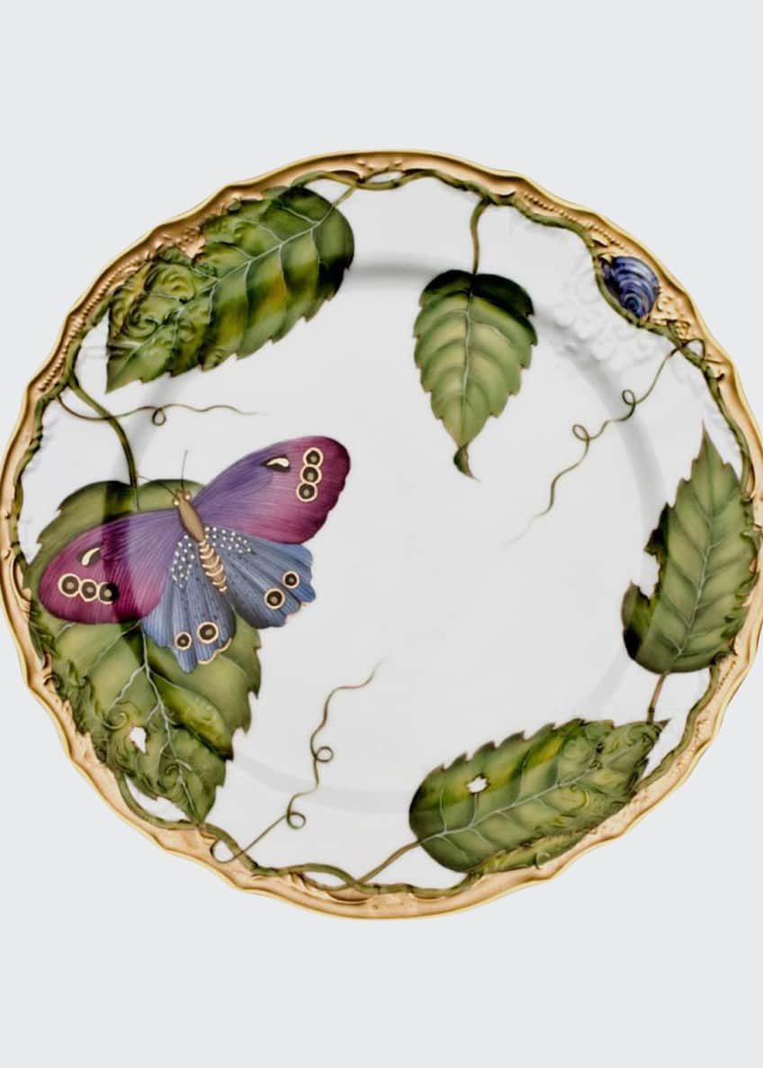 Anna Weatherley Exotic Butterflies Salad Plate