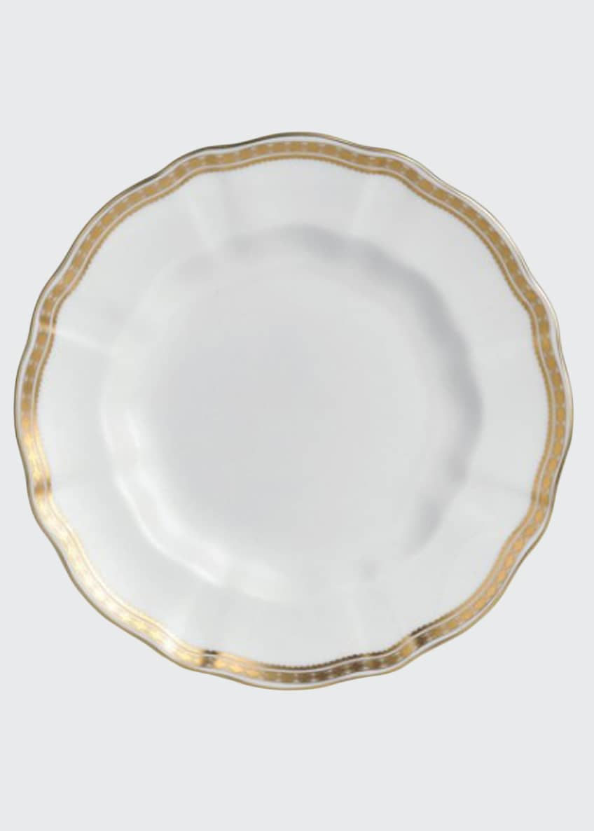 Image 1 of 1: Carlton Gold Salad Plate