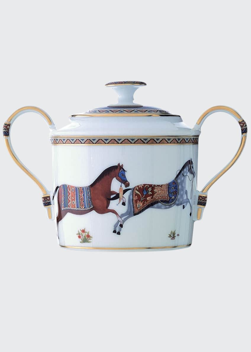 Image 1 of 1: Cheval D'Orient Sugar Bowl