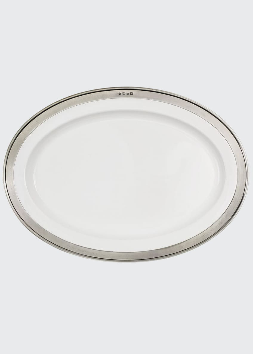 Image 1 of 1: Convivio Oval Serving Platter