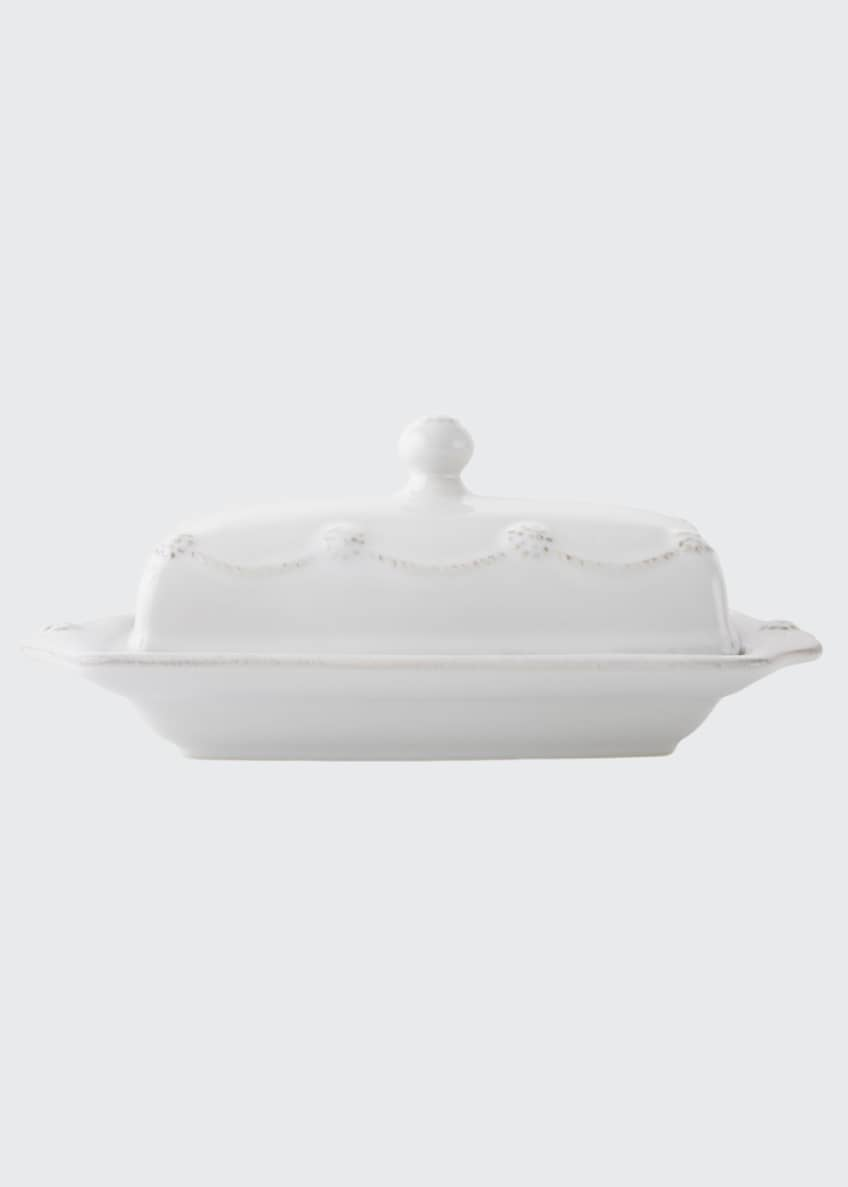 Juliska Berry & Thread Whitewash Butter Dish