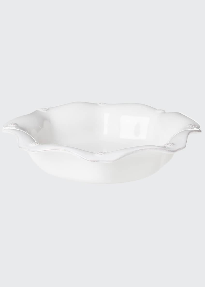 Juliska Berry & Thread Whitewash Pasta/Soup Bowl