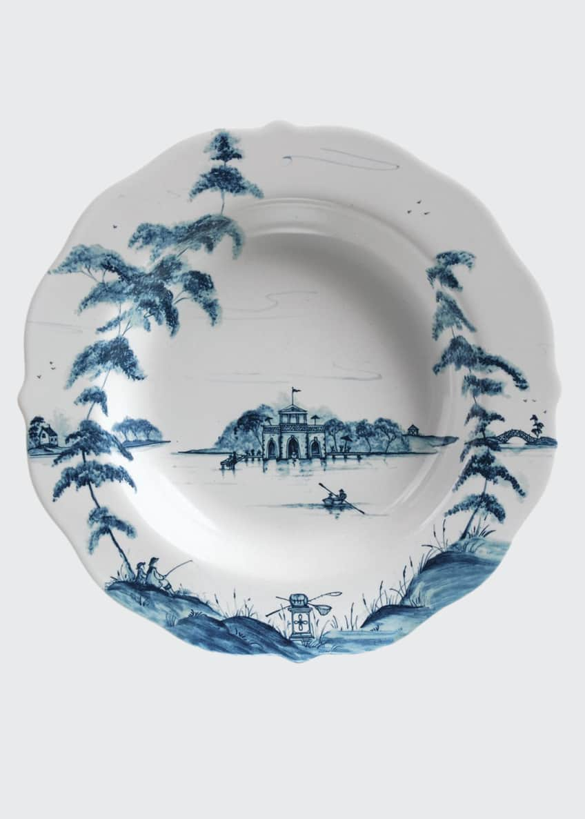 Juliska Country Estate Delft Blue Rim Soup Bowl