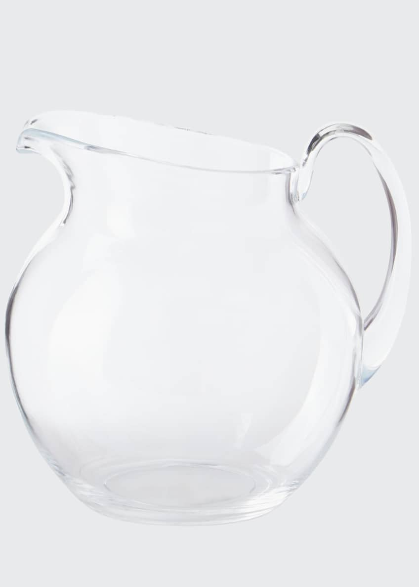 Image 1 of 1: Palla Transparent Acrylic Pitcher, Clear