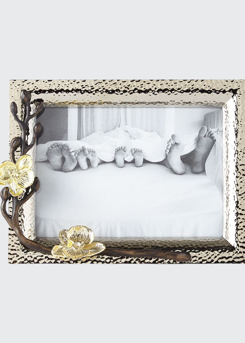 "Image 1 of 1: Gold Orchid 5"" x 7"" Picture Frame"