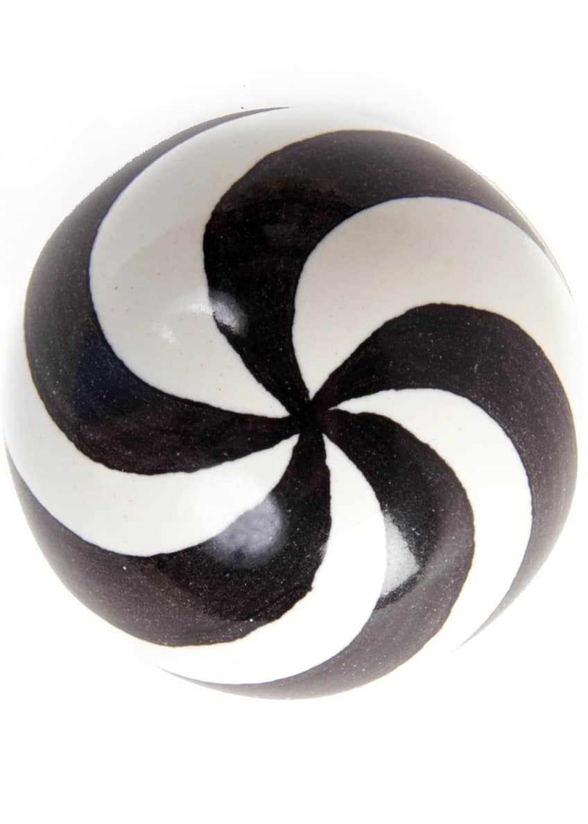 MacKenzie-Childs Dot Majolica Decorative Knob