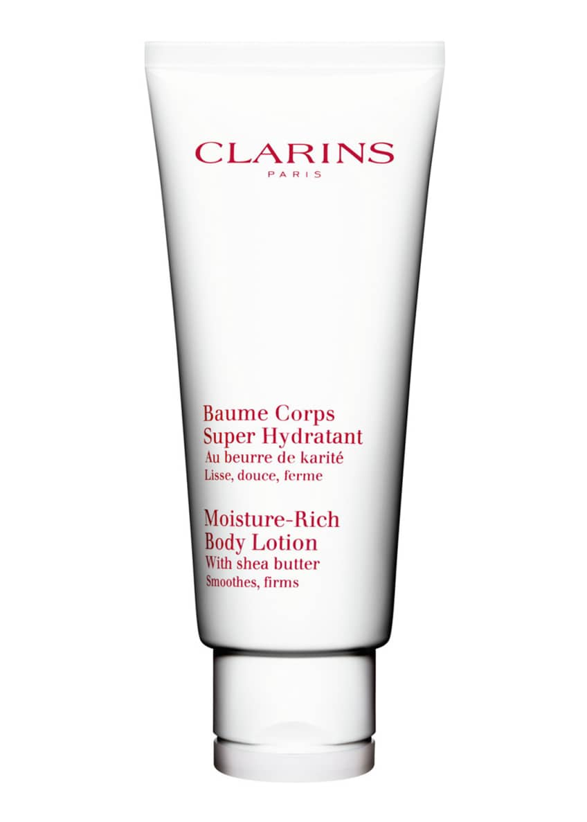Clarins Moisture Rich Body Lotion, 6.5 oz./ 192