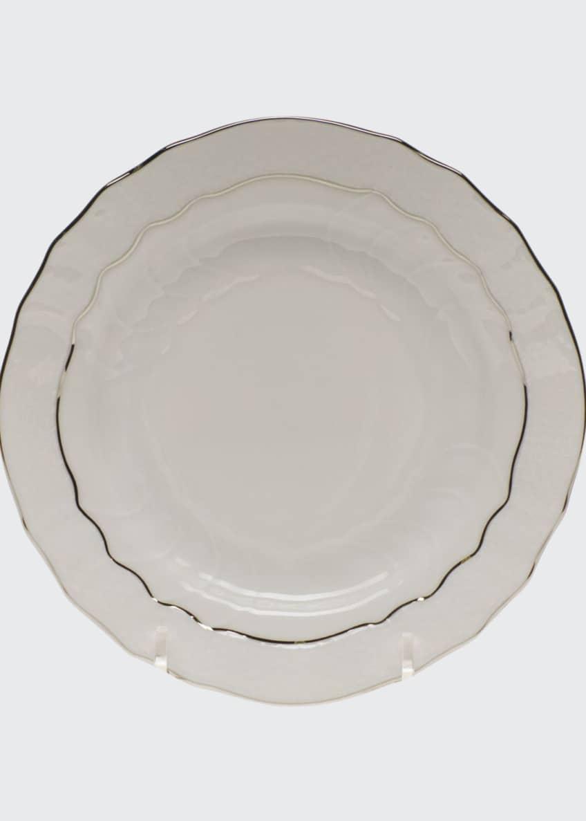 Herend Platinum Edge Bread & Butter Plate