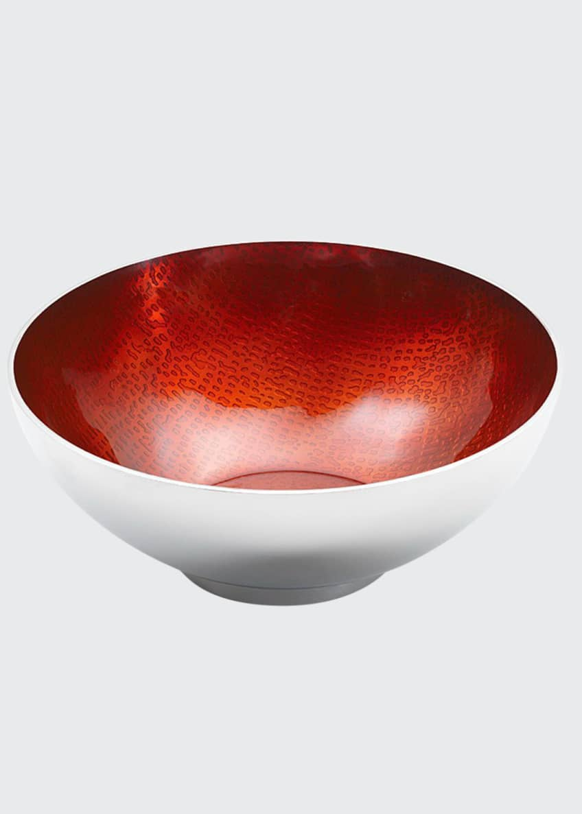 Image 1 of 1: Symphony Ruby Red Round Bowl