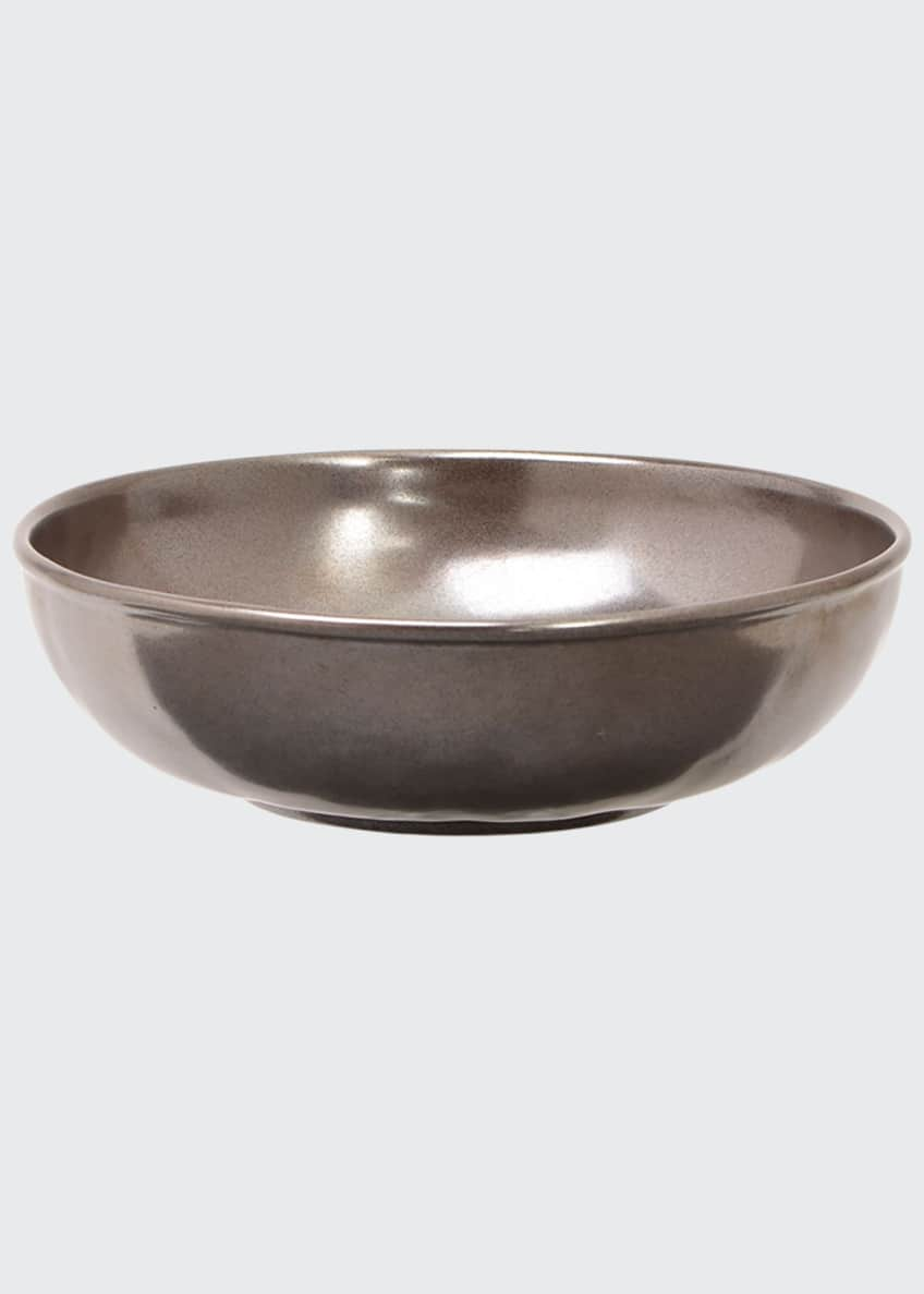 Image 1 of 1: Pewter Stoneware Coupe Pasta/Soup Bowl