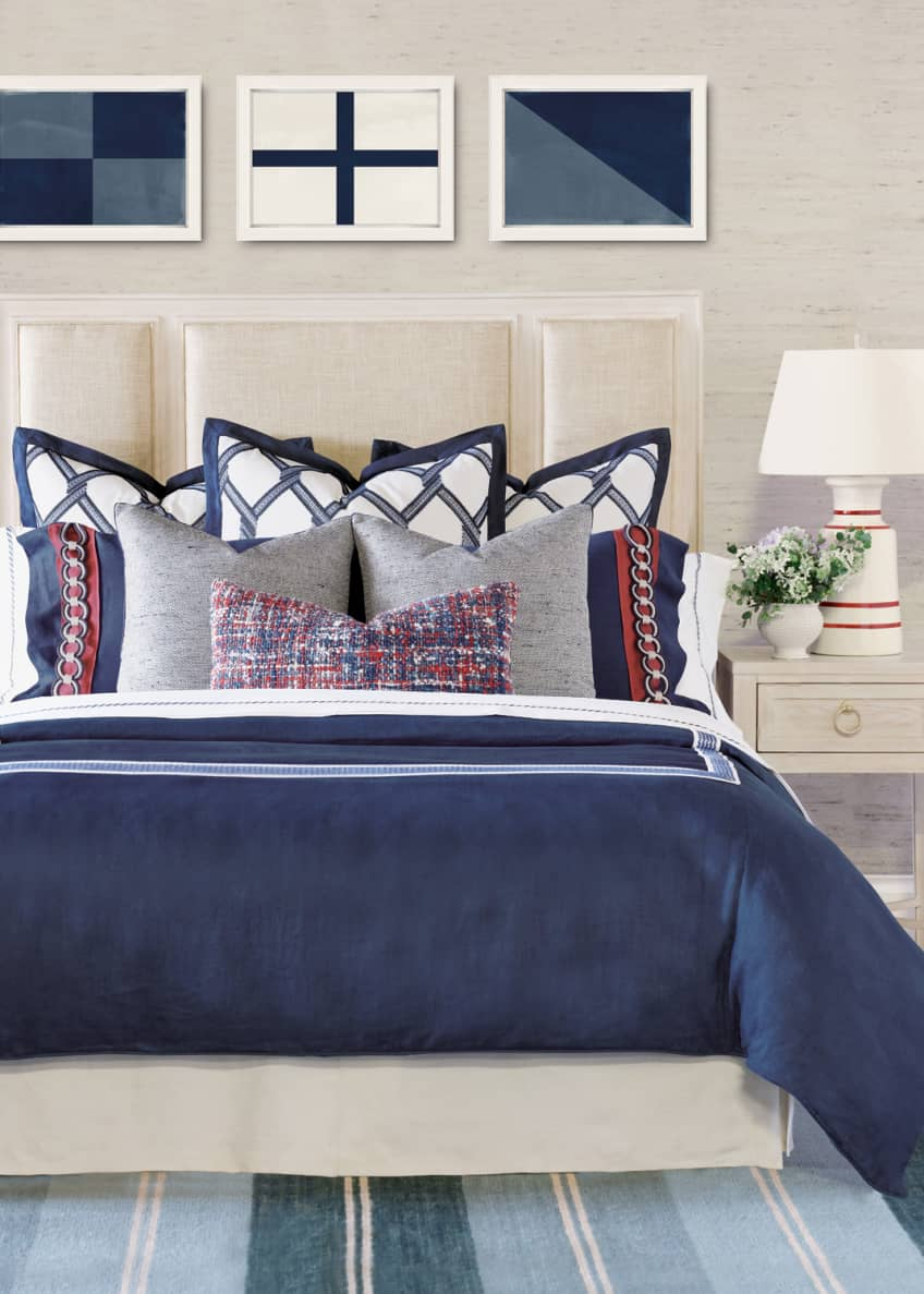 Image 2 of 2: Newport King Duvet Cover