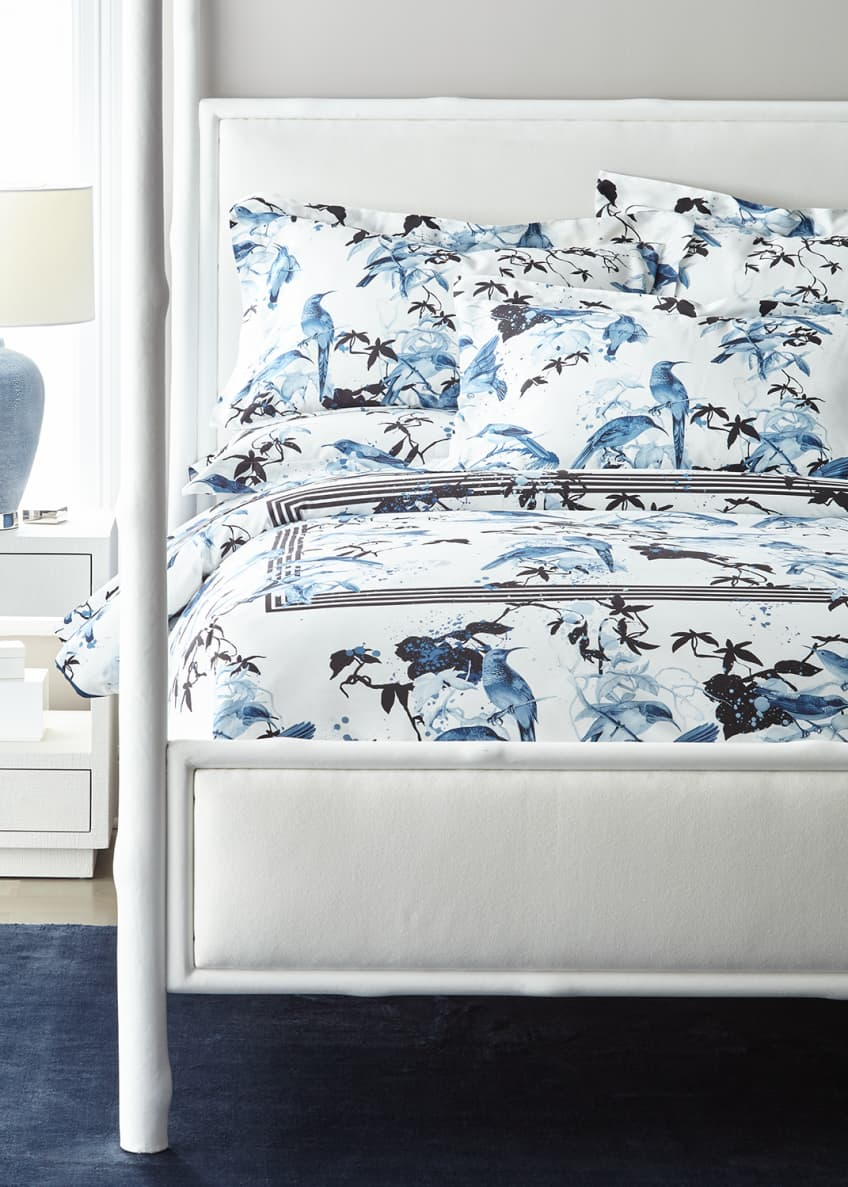 Image 2 of 2: Birds Ramage King Duvet Cover