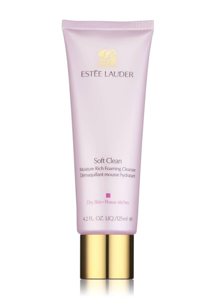 Estee Lauder Soft Clean Moisture Rich Foaming Cleanser,