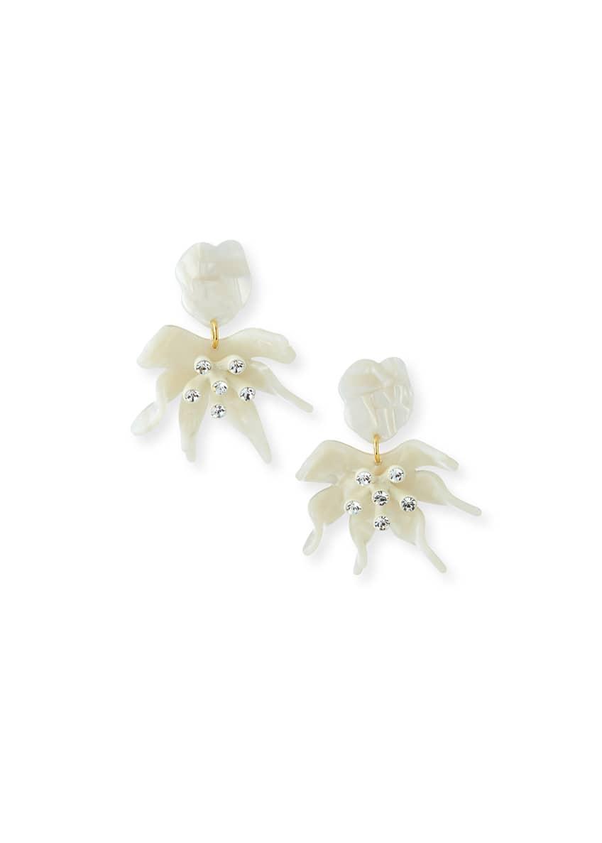 Lele Sadoughi Daffodil Statement Earrings