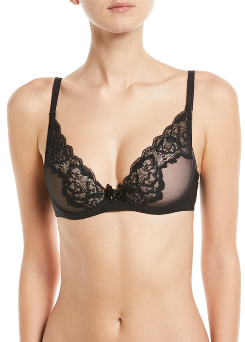 Chantelle Orangerie Plunge Underwire Bra & Matching Items
