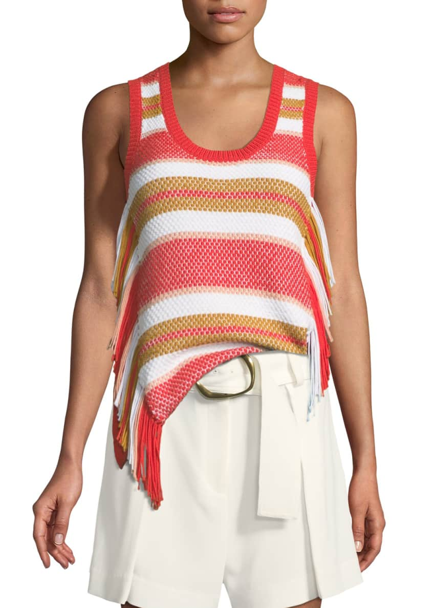 Derek Lam 10 Crosby Sleeveless Knit Top with