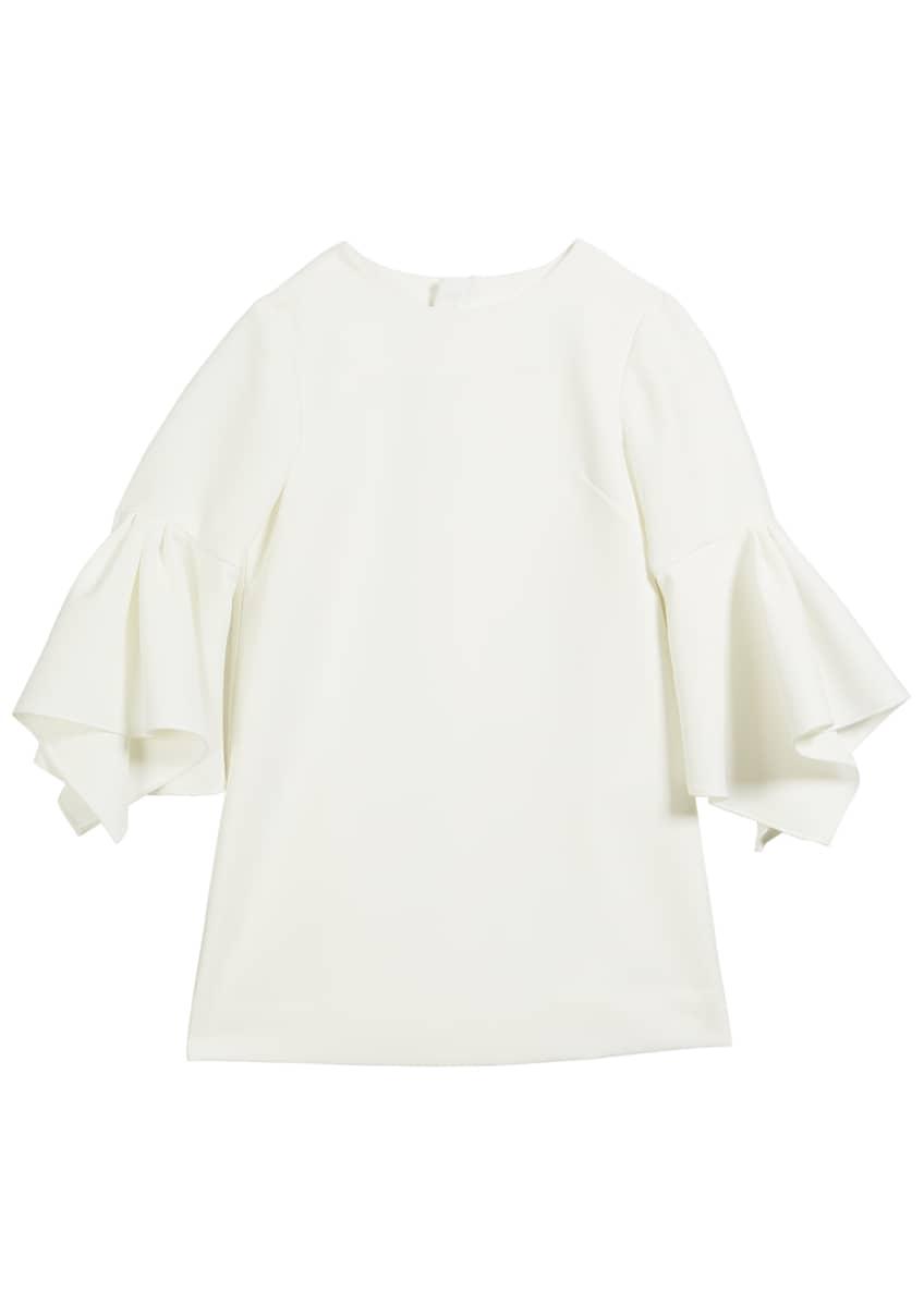 Milly Minis Aubree Italian Cady Dress, Size 2T-6