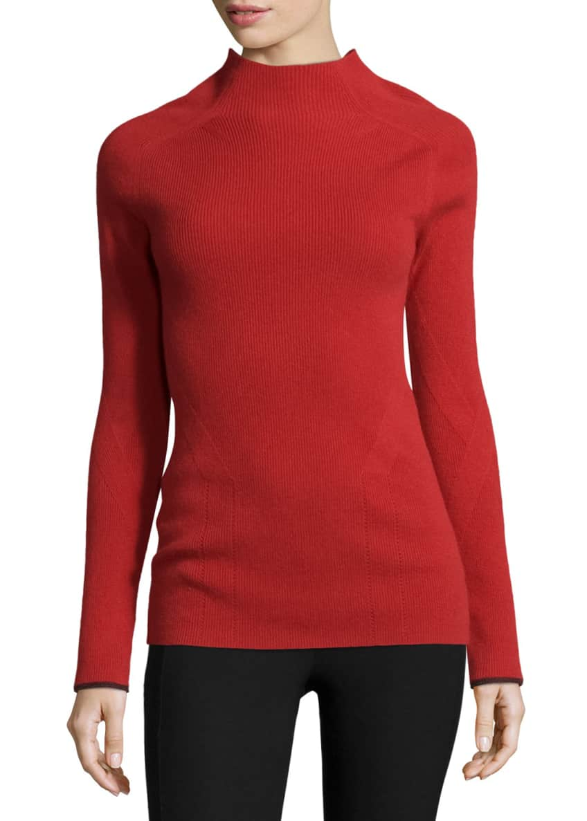 Rag & Bone Natasha Ribbed Cashmere Sweater &