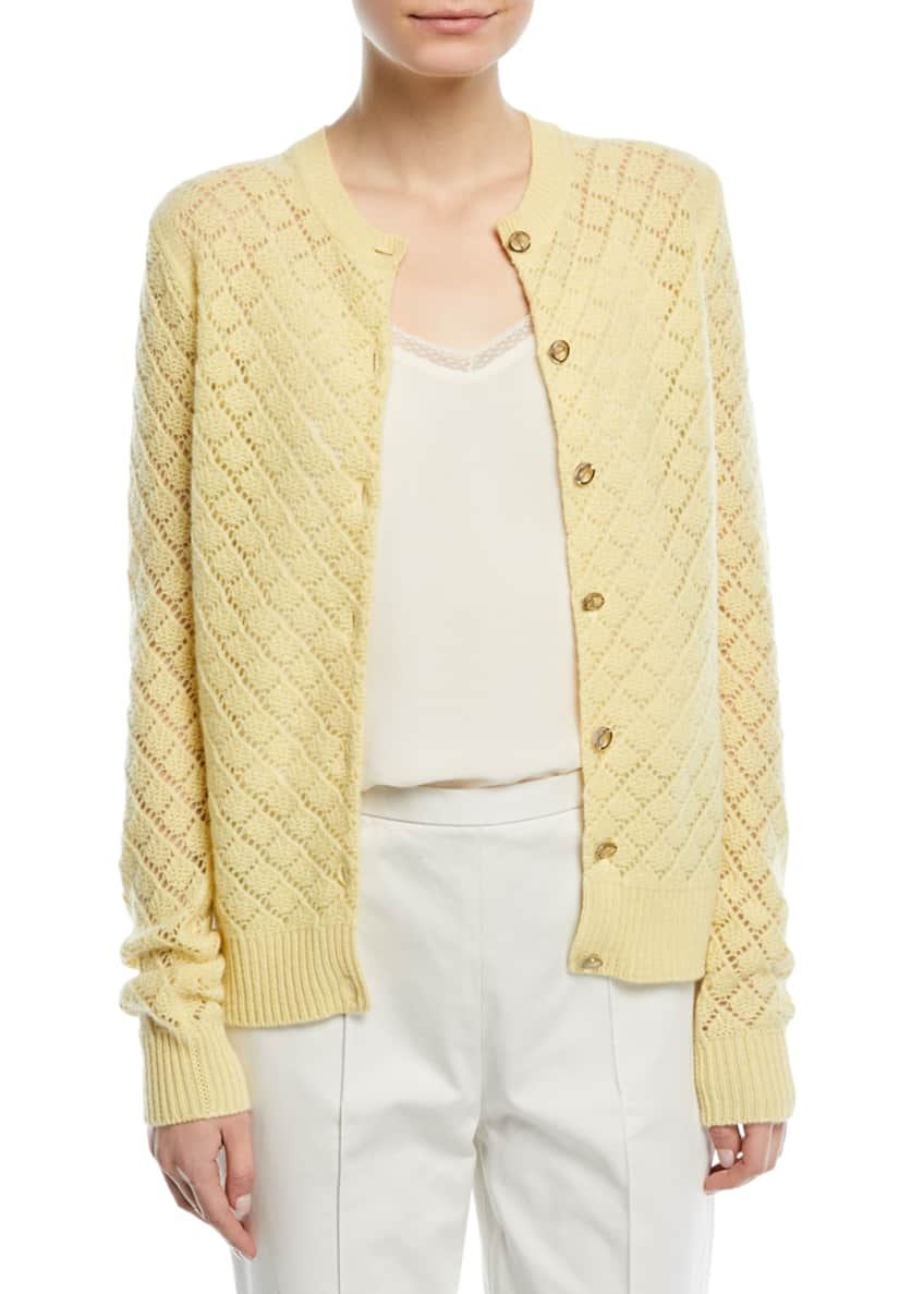 Marc Jacobs Open-Knit Cashmere Cardigan & Matching Items