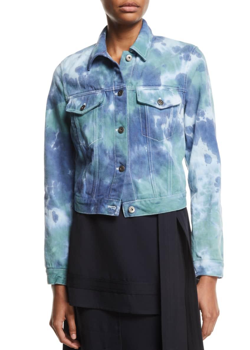 3.1 Phillip Lim Tie-Dye Denim Jacket & Matching