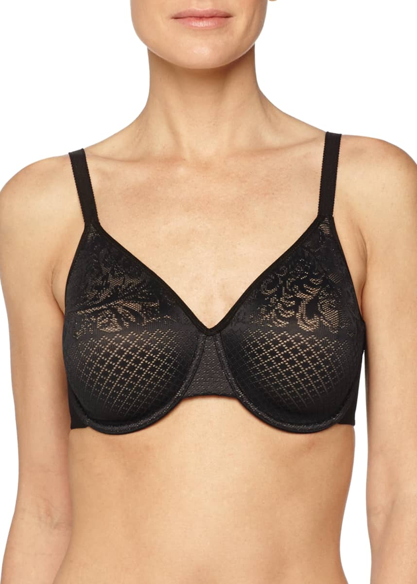 Wacoal Visual Effects Minimizer Lace Bra