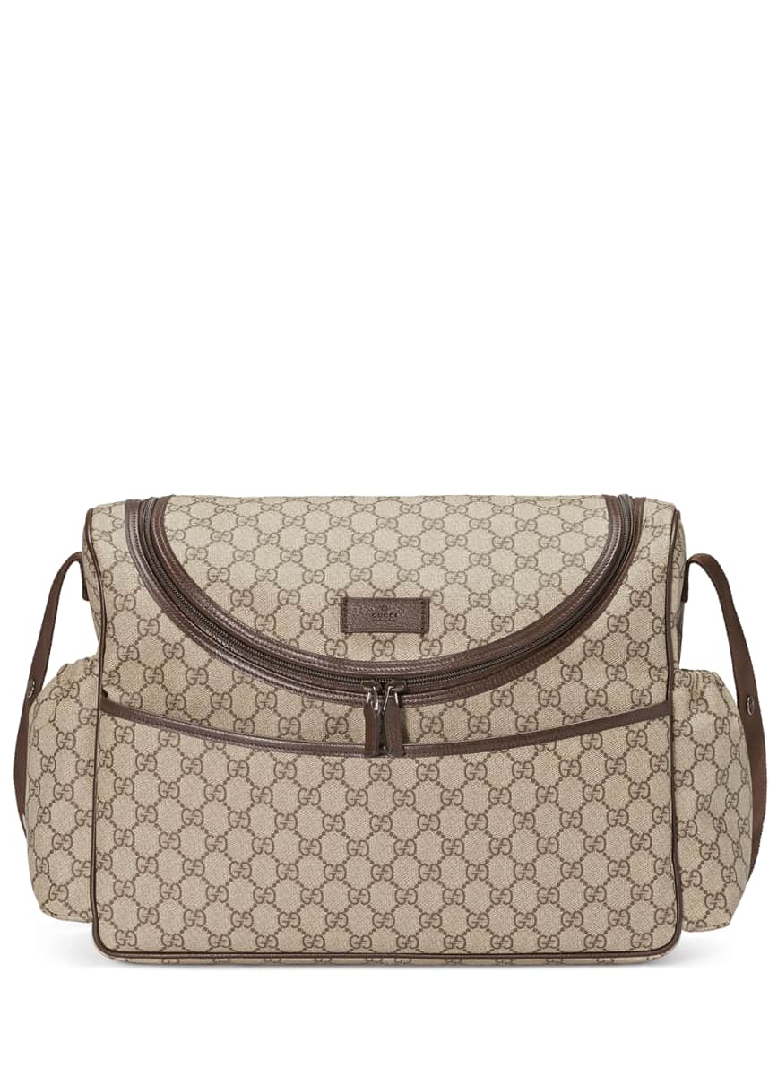 Diaper Bags Collection : Leather-Trim Diaper Bags At Bergdorf Goodman